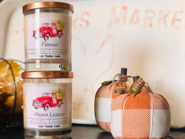Blackberry Bourbon Fall Pickup Candle