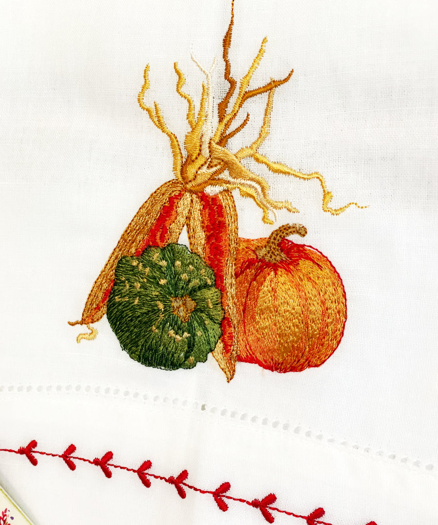 Harvest Fall Guest Towel