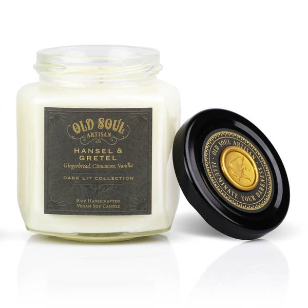 Hansel & Gretel Soy Candle - Winter Folklore Inspired Gift