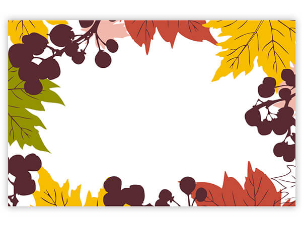 Fall Leaves Card - Charlie James & Company