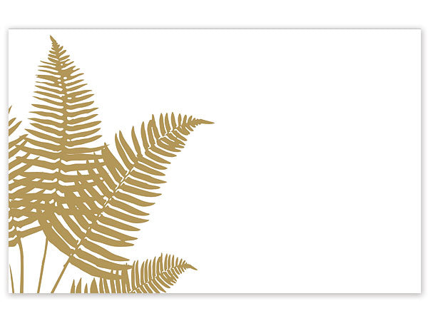 Golden Fronds Greeting Card - Charlie James & Company