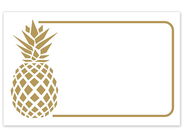 Golden Pineapple Greeting Card - Charlie James & Company
