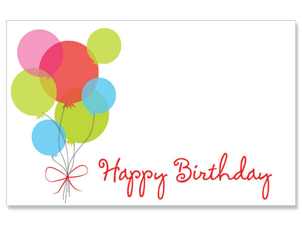 Happy Birthday Balloons Card - Charlie James & Company