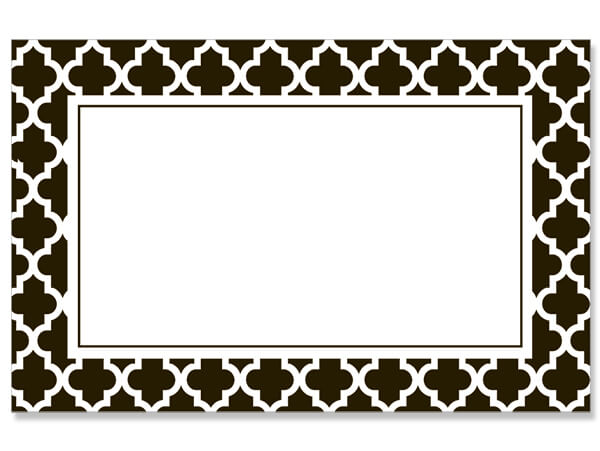 Black & White Design Greeting Card - Charlie James & Company