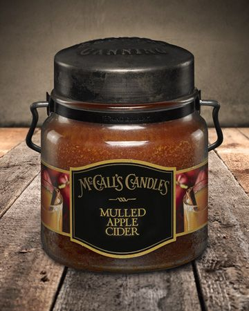 Country Canning Candle Mulled Apple Cider 16oz - Charlie James & Company