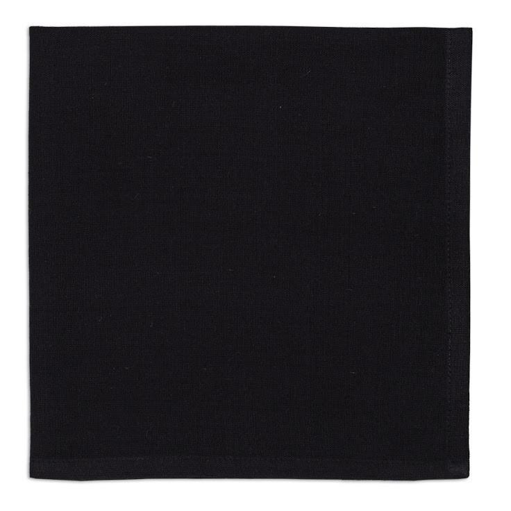 Black Napkin Set of 4 - Charlie James & Company