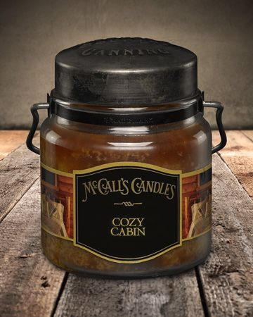 Country Canning Candle Cozy Cabin 16oz - Charlie James & Company