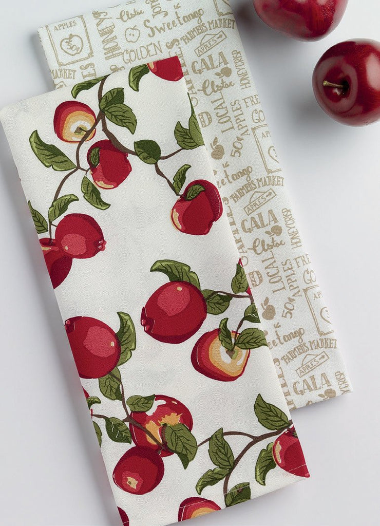 Apple Orchard Dishtowel Set - Charlie James & Company