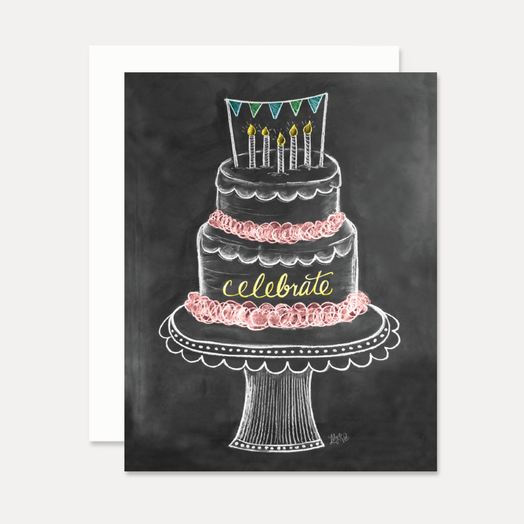 Happy Birthday Celebrate Greeting Card