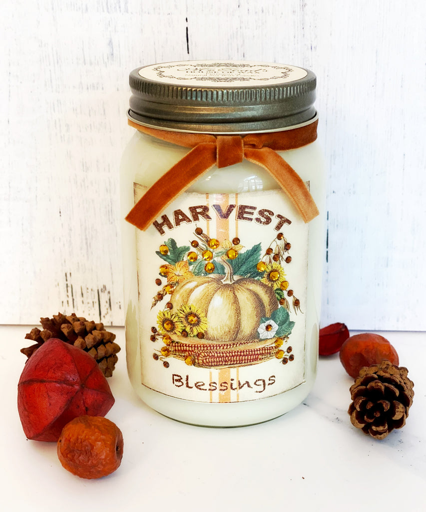 Harvest Blessings - Country Cabin