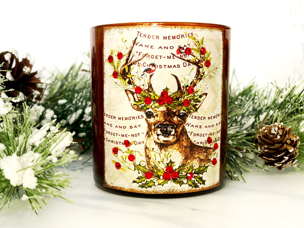 Farm Fresh Vintage Candle in Frosted Gingerbread