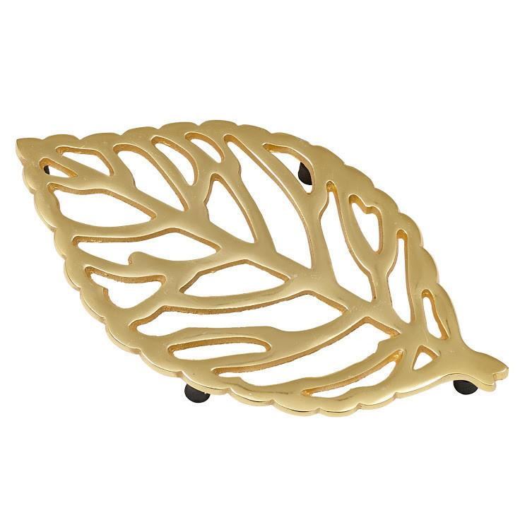 Gold Leaf Trivet - Charlie James & Company