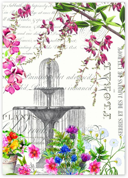 In the Garden Kitchen Towel