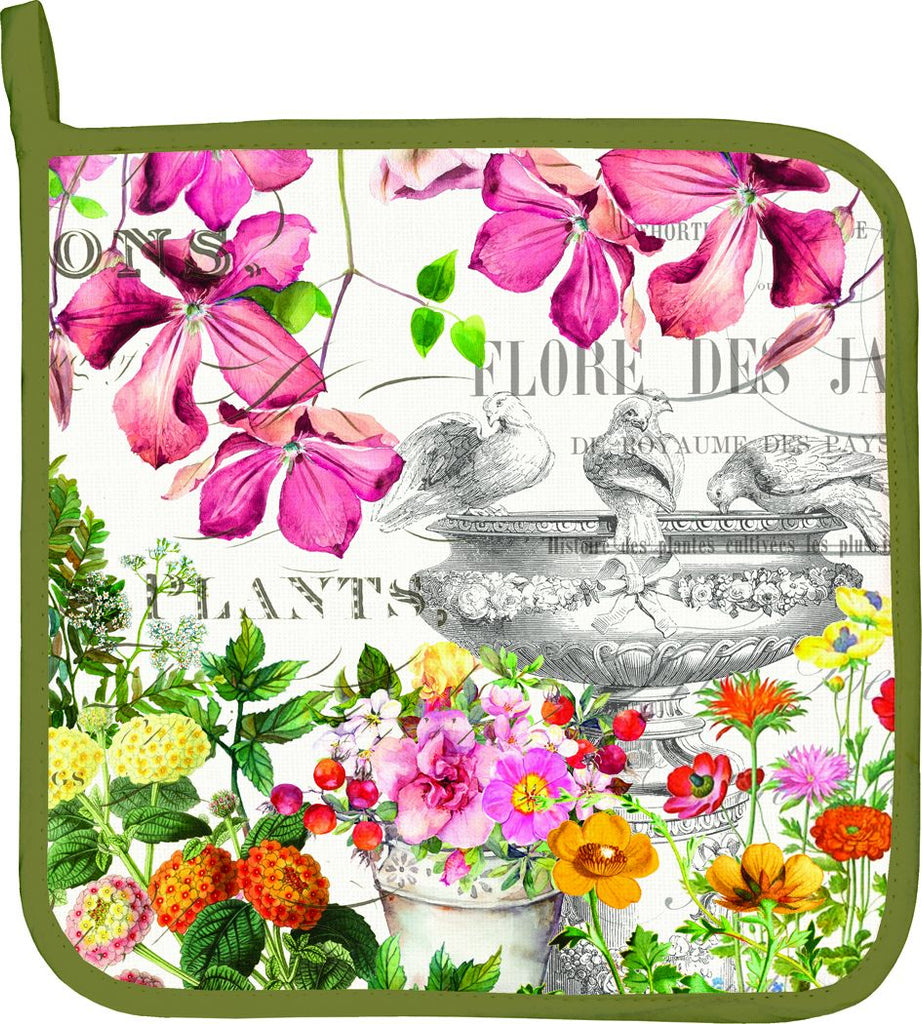 In the Garden Potholder