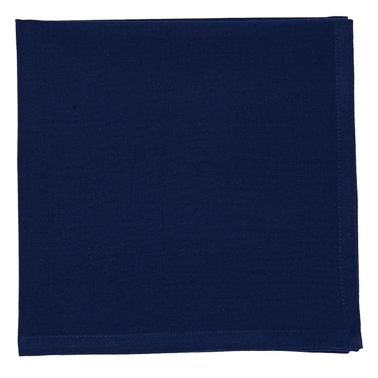 Navy Blue Napkin Set of 4 - Charlie James & Company