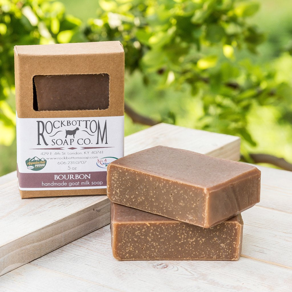 Bourbon Goat Milk Soap - Charlie James & Company
