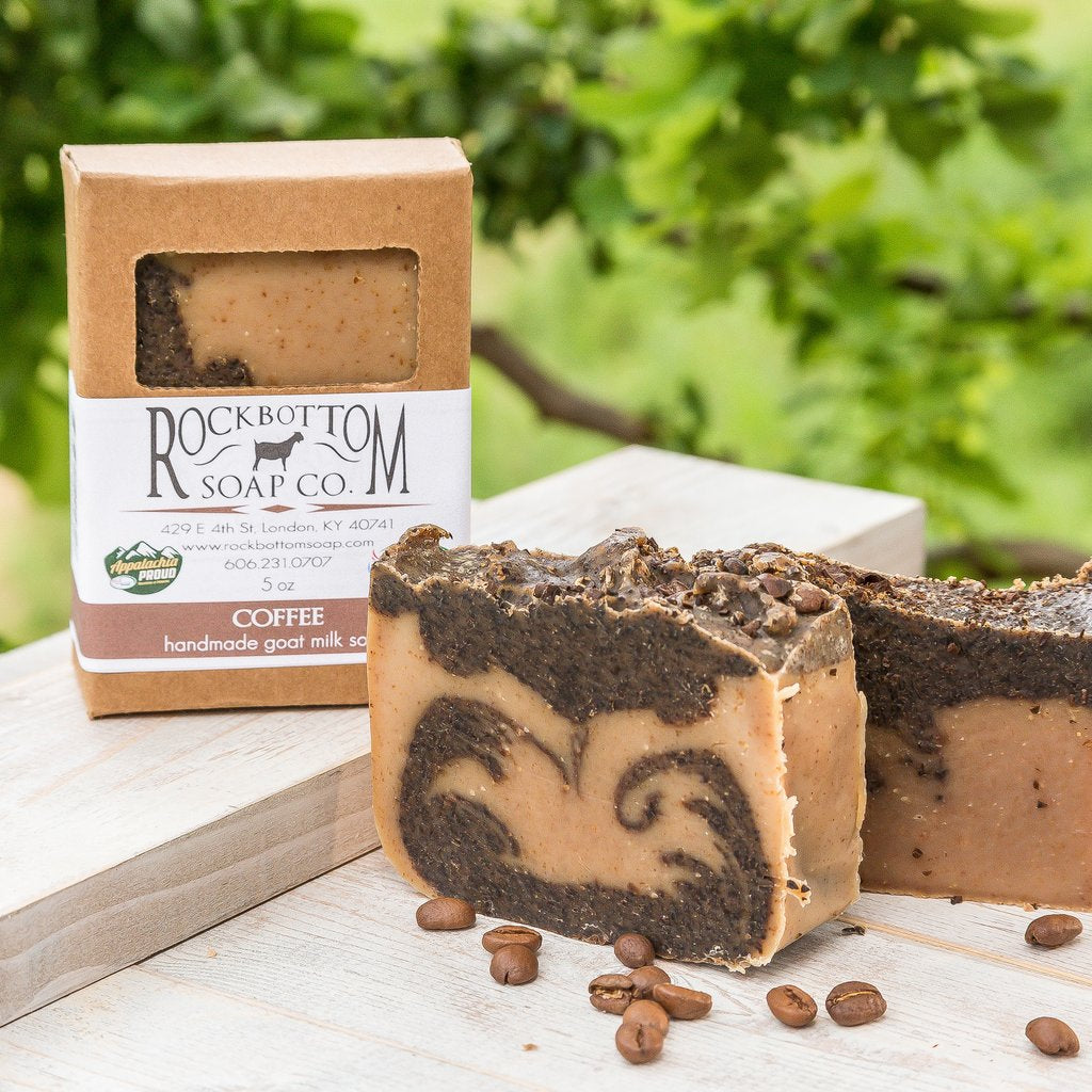 Coffee Goat Milk Soap - Charlie James & Company