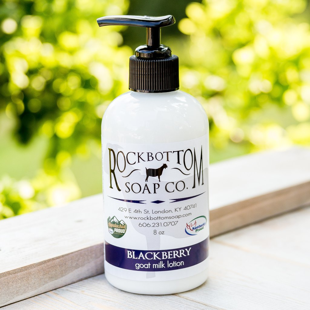 Blackberry Goat Milk Lotion