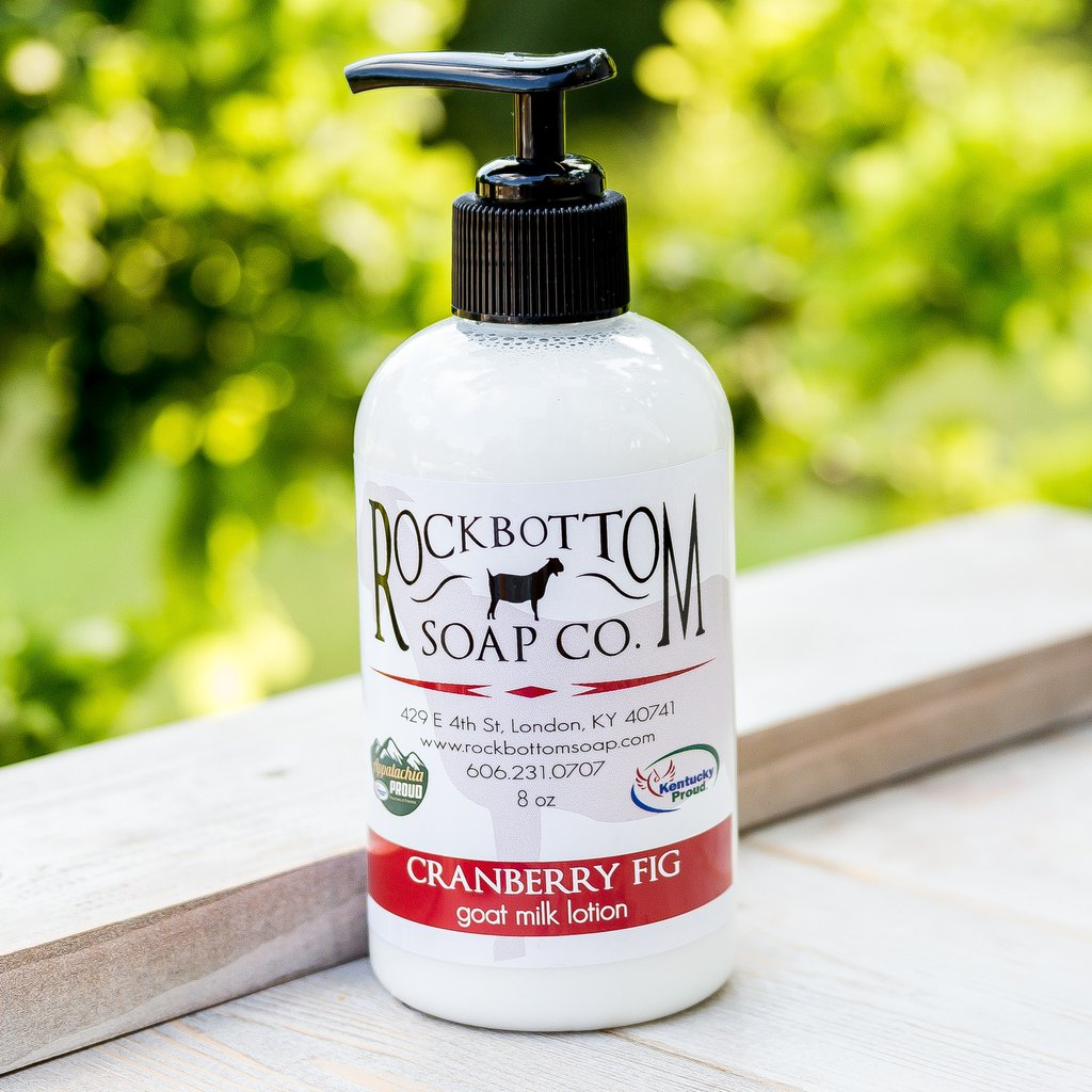Cranberry Fig Goat Milk Lotion - Charlie James & Company