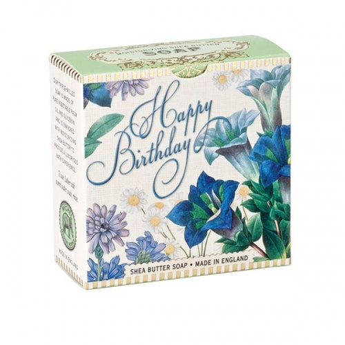 Happy Birthday Floral Little Soap