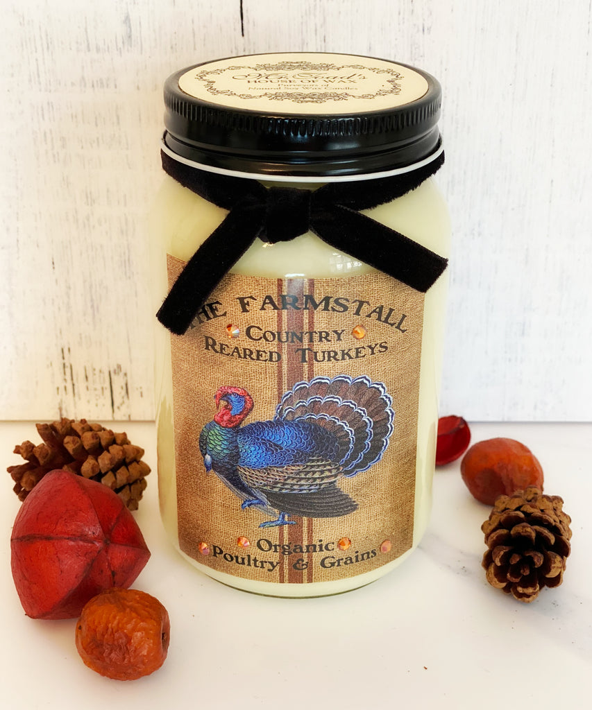 Country Turkey - Vanilla Pumpkin Cupcake