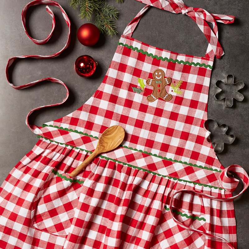 Warm Gingerbread Apron