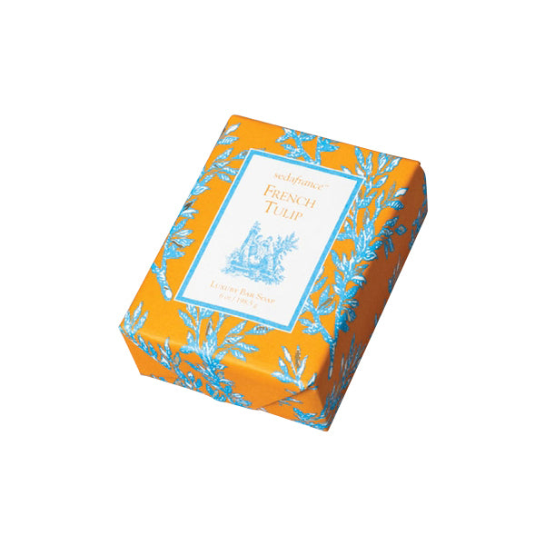 French Tulip Classic Toile Wrapped Soap - Charlie James & Company