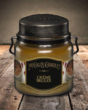 Country Canning Candle Creme Brulee 16oz - Charlie James & Company