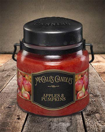 Country Canning Candle Apples & Pumpkins 16oz