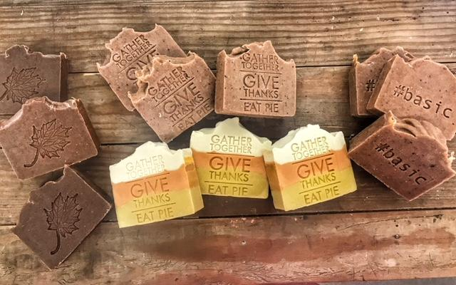 Give Thanks Pumpkin Pie Bar - Charlie James & Company