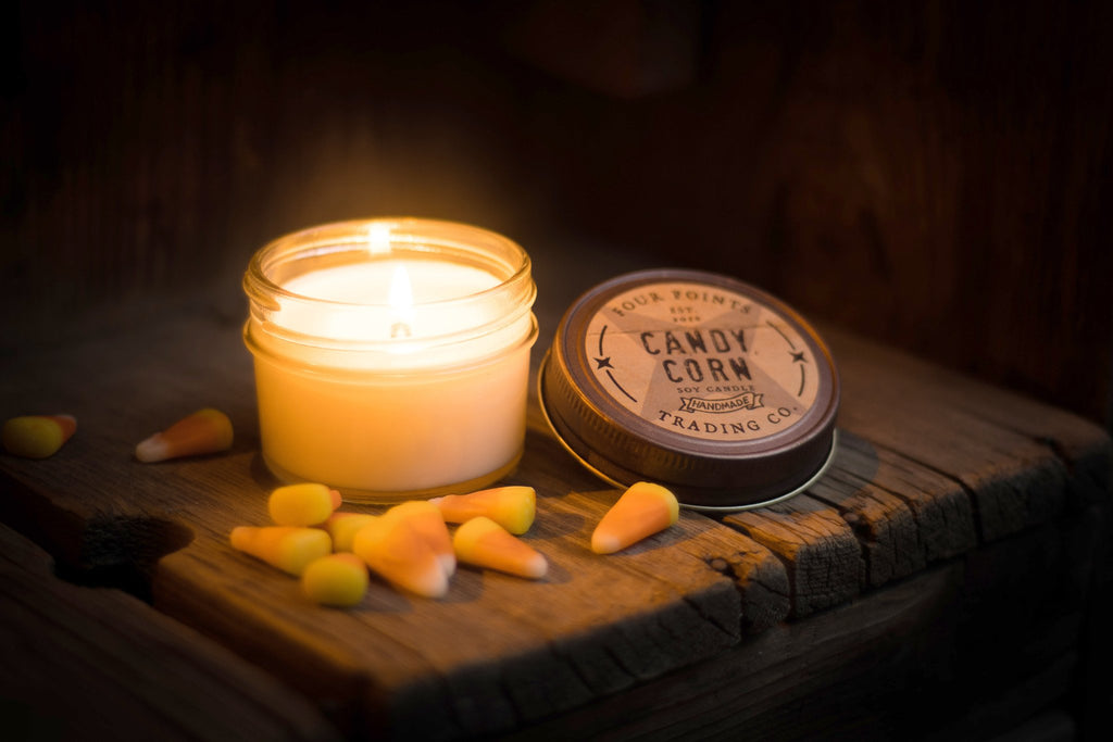 Candy Corn 4 oz Candle