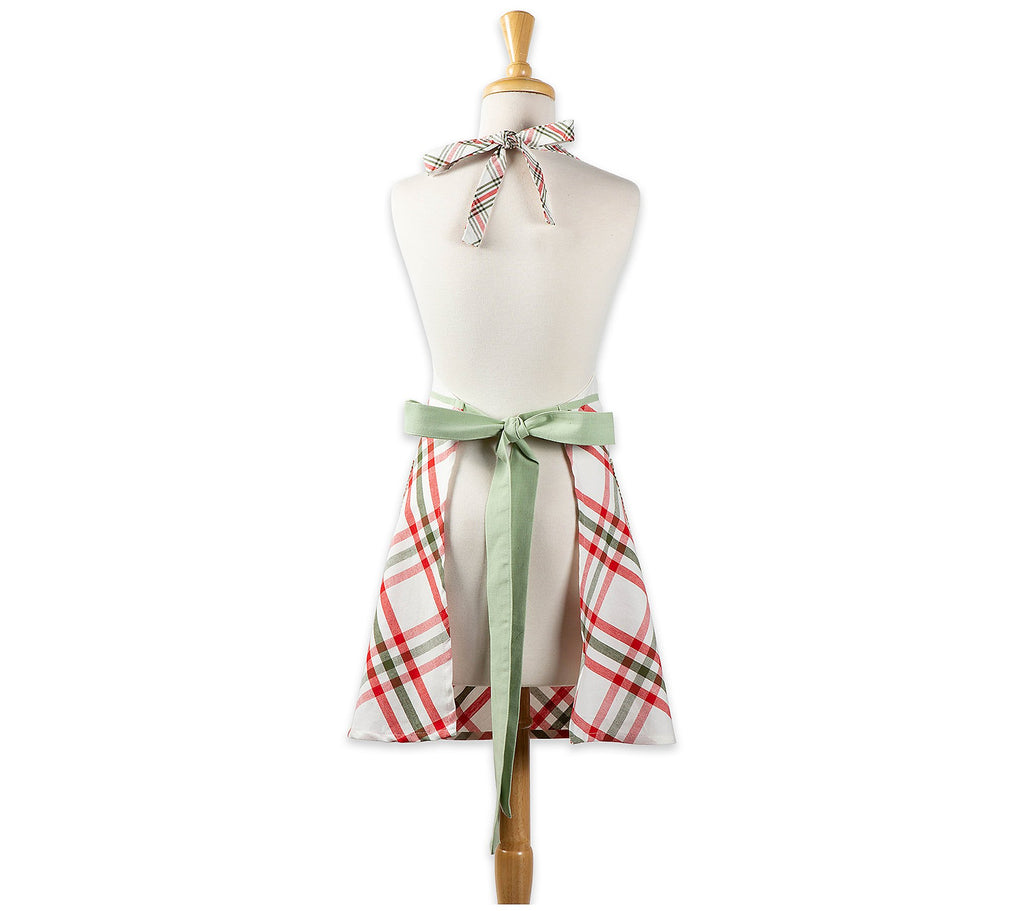 Jolly Tree Printed Apron