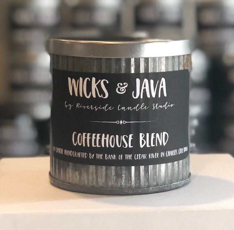 Coffee House Blend Rustic Candle - Charlie James & Company