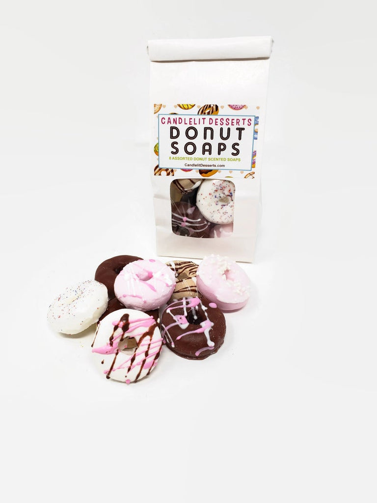 Bakery Bag of Mini Donut Soaps