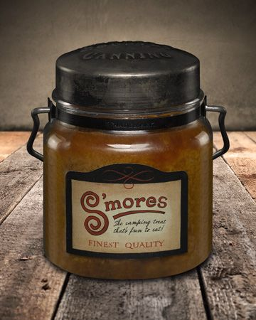 S'mores Single Wick Canning Jar Candle 16oz