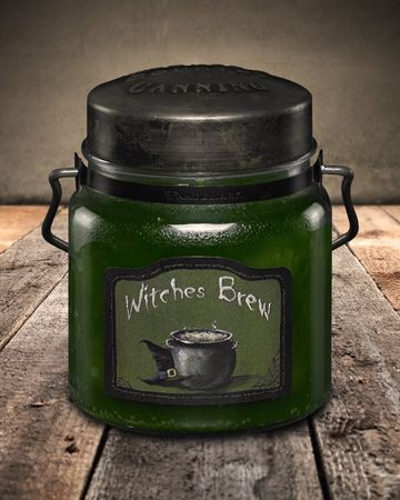 Witches Brew Canning Jar Candle 16oz