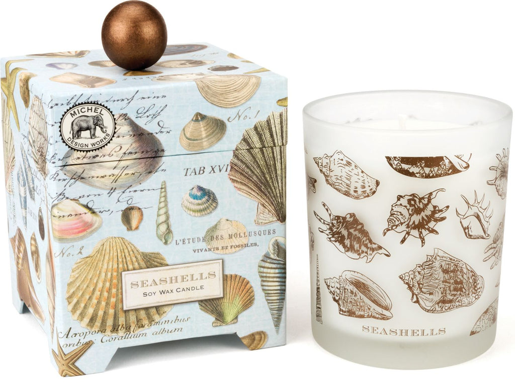Seashells Soy Candle Large