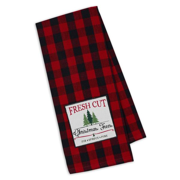 Fresh Cut Christmas Trees Dishtowel - Charlie James & Company