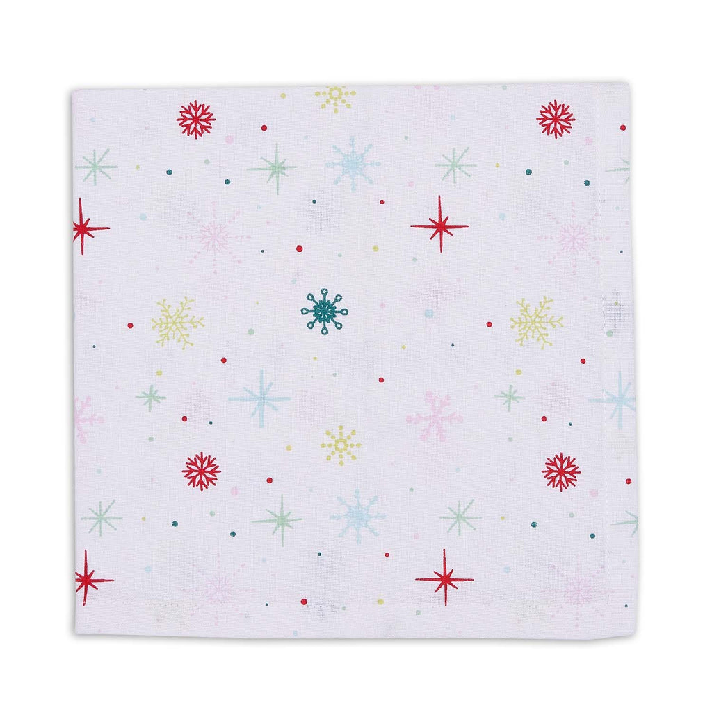 Snowflake Party Napkin Set of 4
