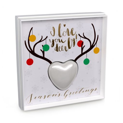 I Love Your Deerly - Season's Greetings Card with Soap - Charlie James & Company