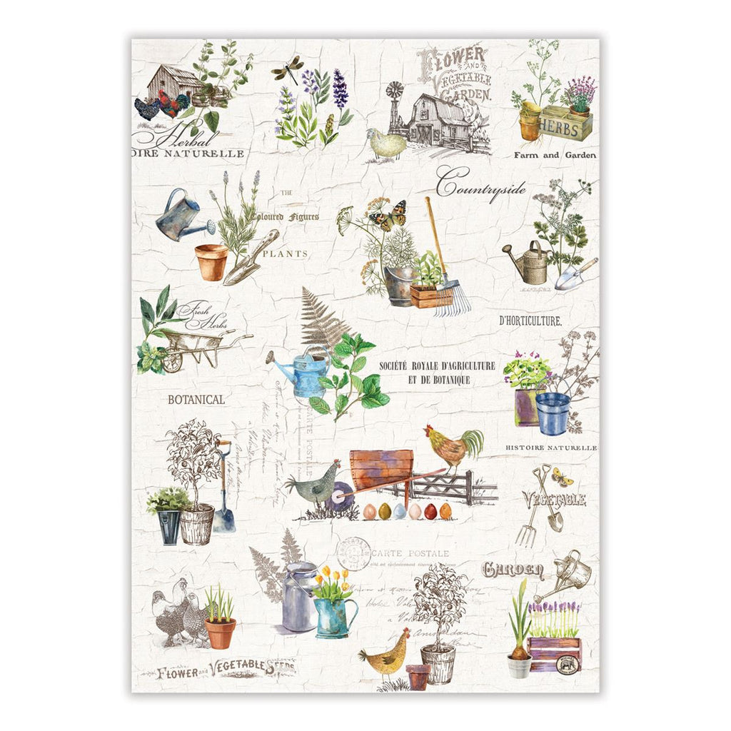 Country Life Kitchen Towel