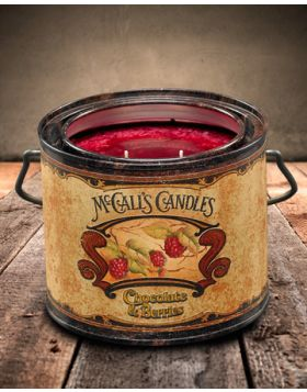 Vintage 22 Chocolate & Berries Candle Can