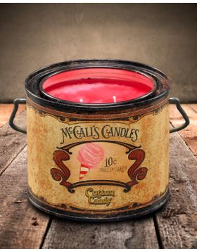 Vintage 22 Cotton Candy Candle Can