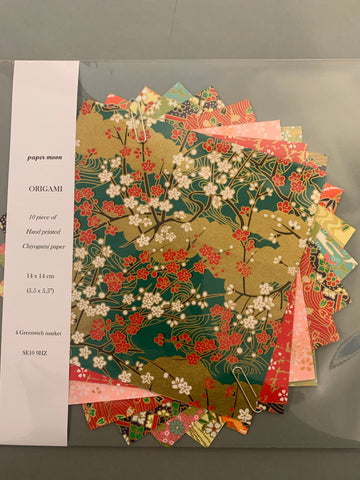 Chiyogami paper