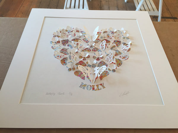 Heart with name or letters (commission for wedding or anniversary)