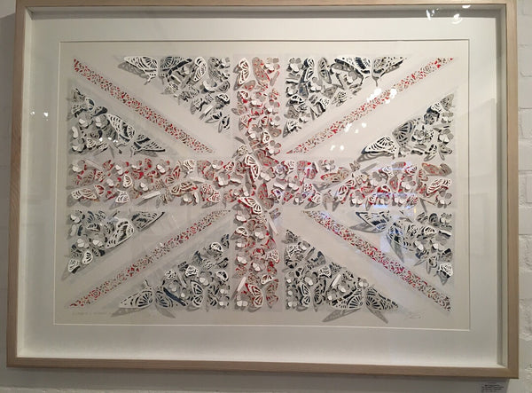 Union Jack ( hand-cut limited edition) ( available)