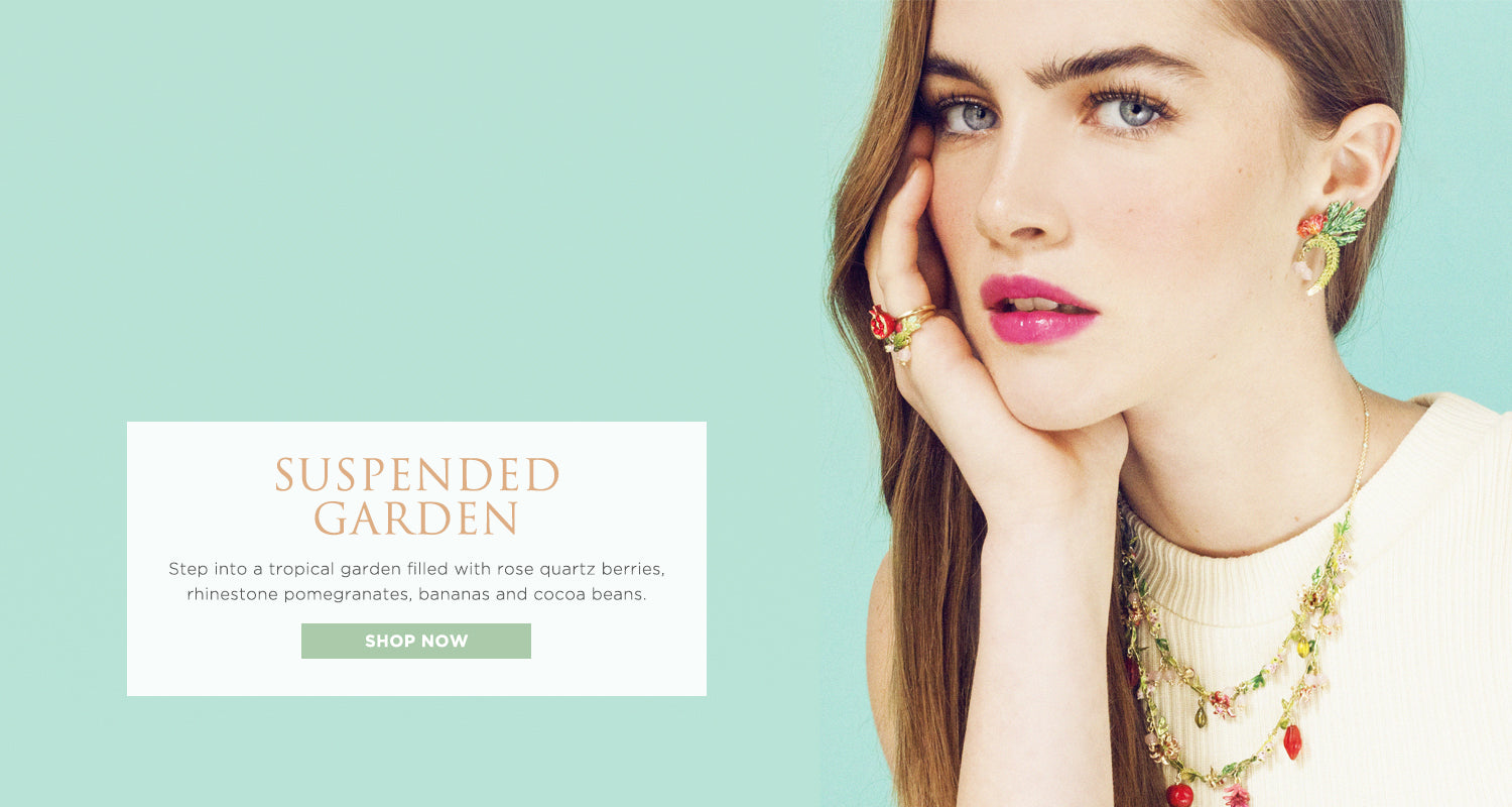 Suspended Garden. Shop the collection in full bloom.