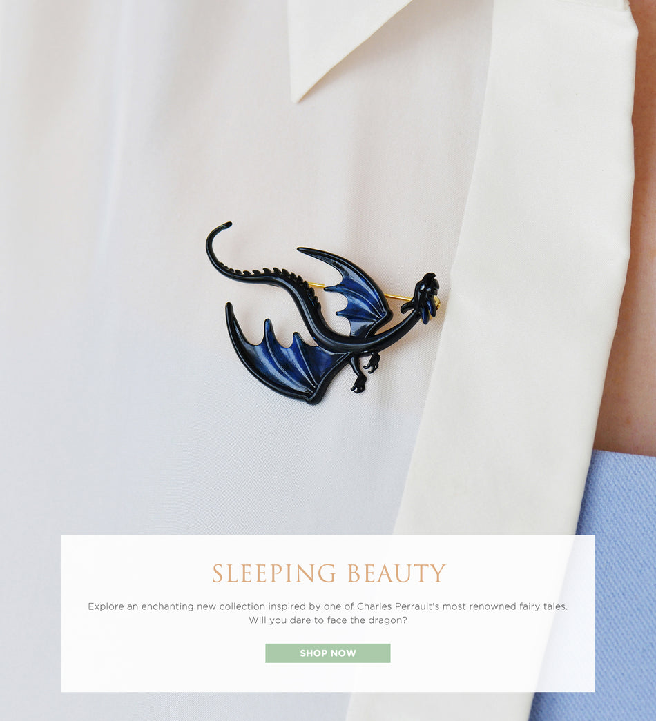 Explore an enchanting new collection, Sleeping Beauty, inspired by one of Charles Perrault's most renowned fairy tales.