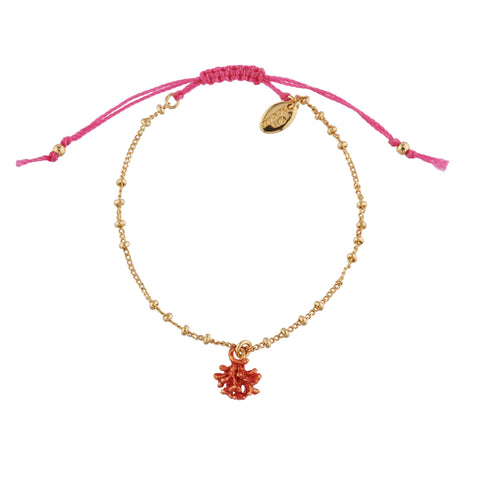 Free Coral Bracelet with Purchase of $150 or More