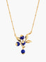 Miraculous Harvest Blueberry Branch Pendant Necklace